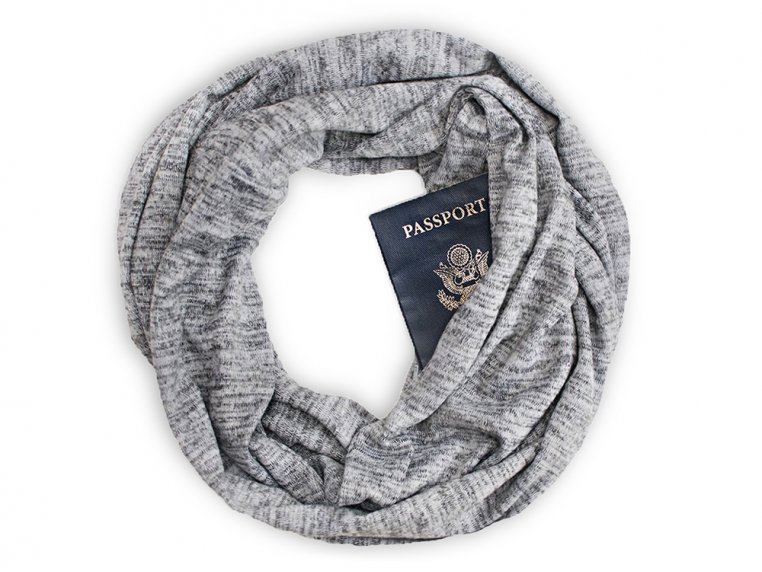 Infinity Pocket Scarf by Speakeasy Travel Supply - 4