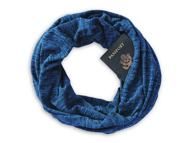 Infinity Pocket Scarf by Speakeasy Travel Supply - 5