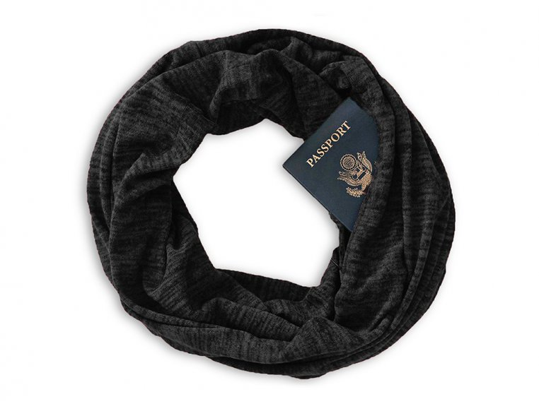 Infinity Pocket Scarf by Speakeasy Travel Supply - 6