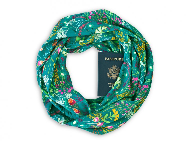 Infinity Pocket Scarf by Speakeasy Travel Supply - 7