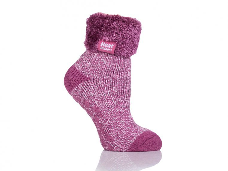 Brushed Thermal Lounge Socks by Heat Holders® - 4