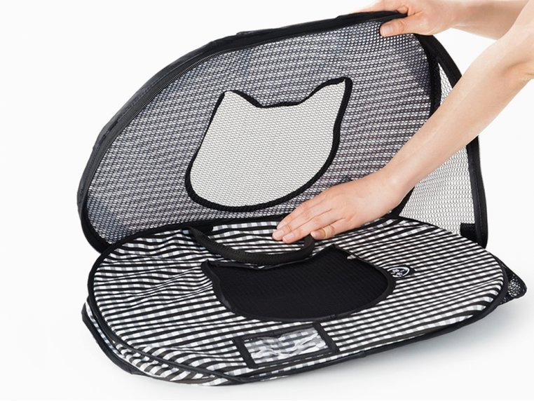 Ultra-Light Collapsible Cat Carrier by Necoichi - 3