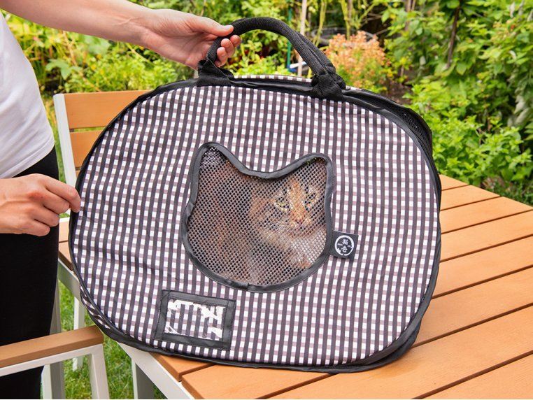 Ultra-Light Collapsible Cat Carrier by Necoichi - 1