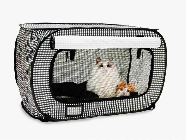 Collapsible Travel Cat Crate by Necoichi - 2