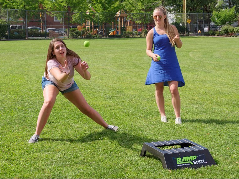 Toss & Bounce Outdoor Game by RampShot - 1