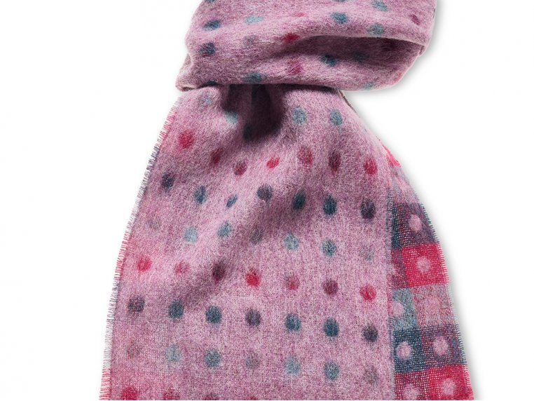 Merino Wool Scarf by Abraham Moon - 2