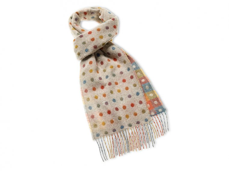 Merino Wool Scarf by Abraham Moon - 3