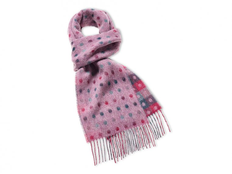 Merino Wool Scarf by Abraham Moon - 4