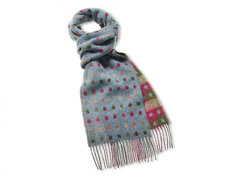 Merino Wool Scarf by Abraham Moon - 5