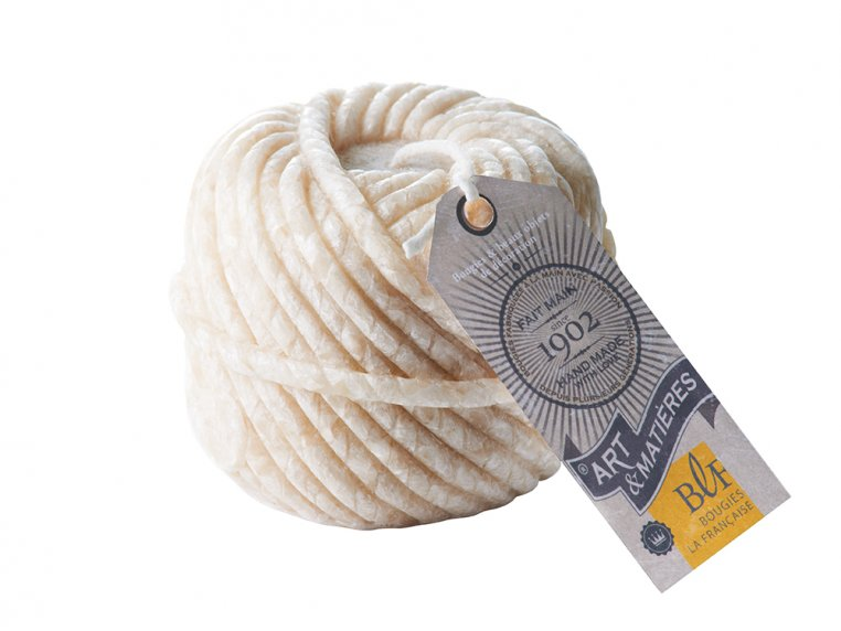Handcrafted Yarn Candle by Bougies La Francaise - 3