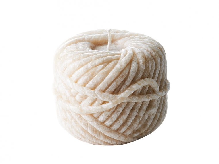 Handcrafted Yarn Candle by Bougies La Francaise - 4
