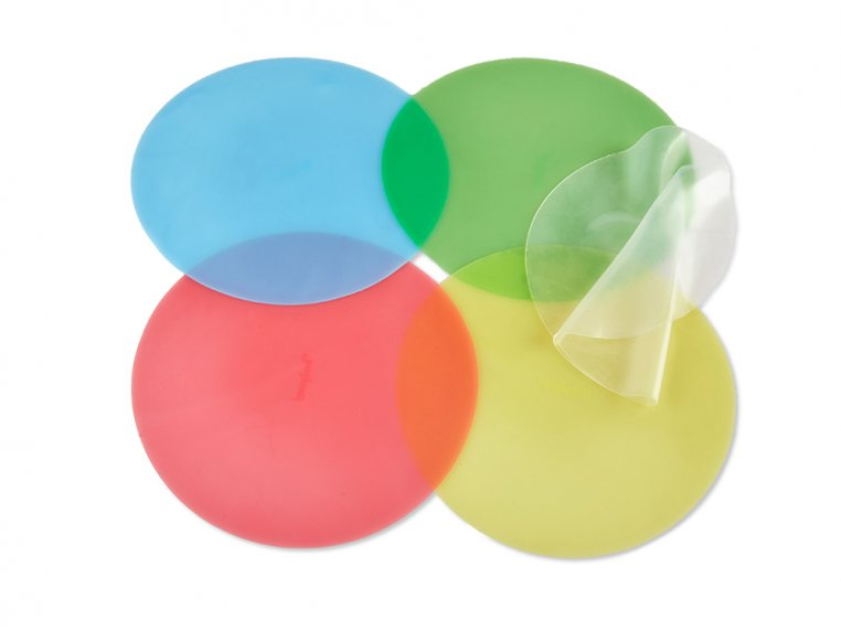Silicone Stretch Lids - 5 Pack by Food Guard - 3
