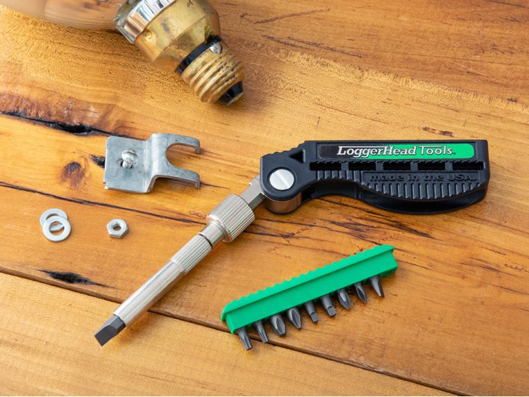 Bit Dr™ 11-in-1 Compact Screwdriver by LoggerHead Tools - 1