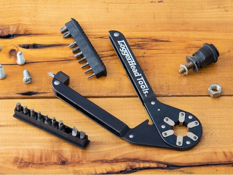 ImmiX™ Adjustable Wrench Multitool by LoggerHead Tools - 1