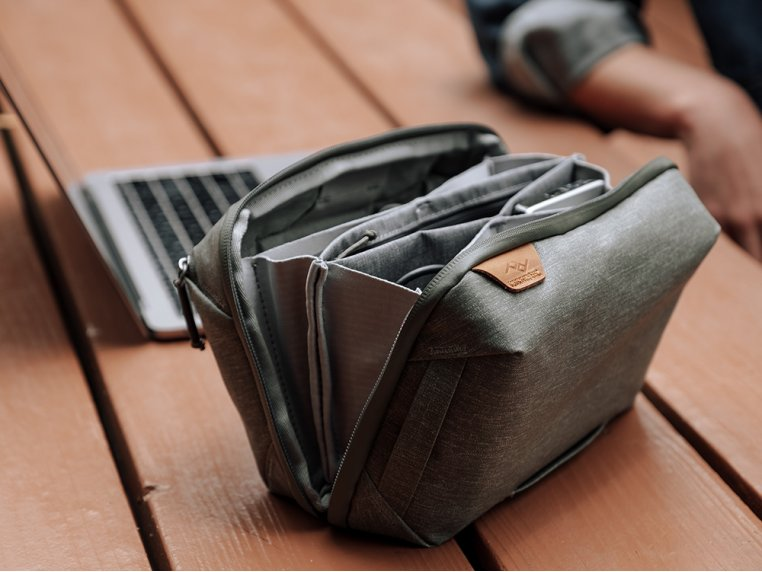 Origami Pocket Clamshell Tech Pouch by Peak Design - 3