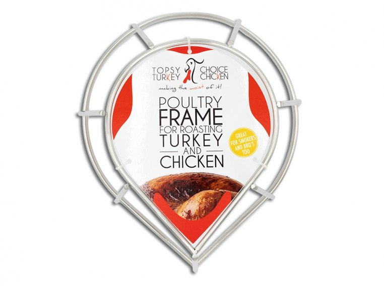 Turkey & Chicken Roasting Frame by Topsy Turkey/Choice Chicken - 3