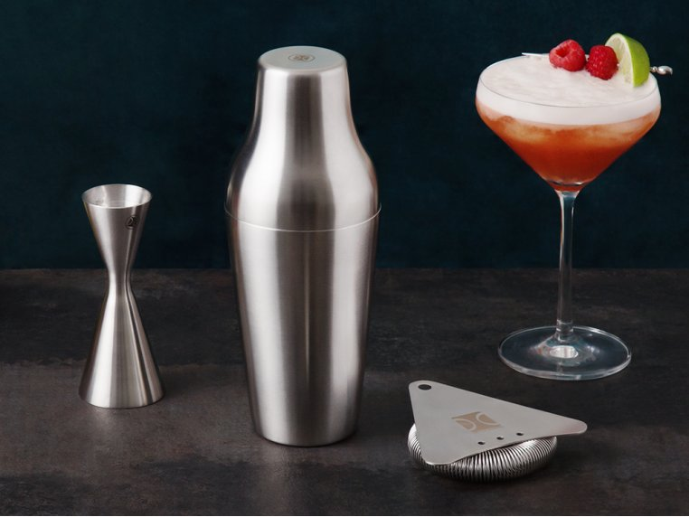 Cocktail Mixing Shaker Gift Set by The Elan Collective - 2