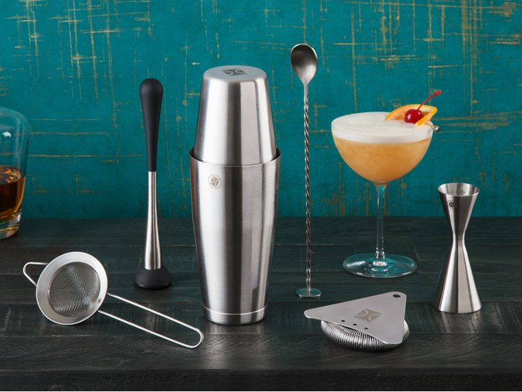 Cocktail Mixing Shaker Gift Set by The Elan Collective - 1