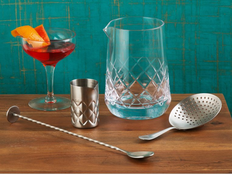 Cocktail Mixing Glass Gift Set by The Elan Collective - 1