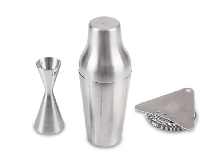 Cocktail Mixing Shaker Gift Set by The Elan Collective - 6