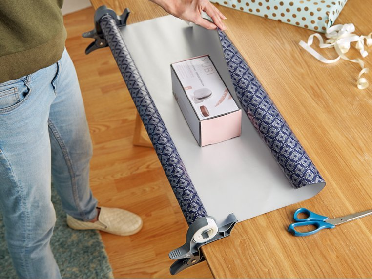 Tabletop Gift Wrapping Tool by Wrap Buddies - 1