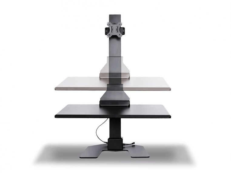 Electric Standing Monitor Desk by Star Ergonomics - 3