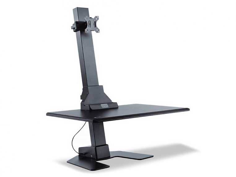 Electric Standing Monitor Desk by Star Ergonomics - 6
