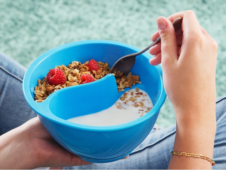 The Original Never Soggy Cereal Bowl by OBOL® - 3