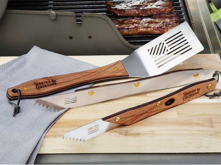 American Flag Grilling Tools by Hunter & Gatherer - 1