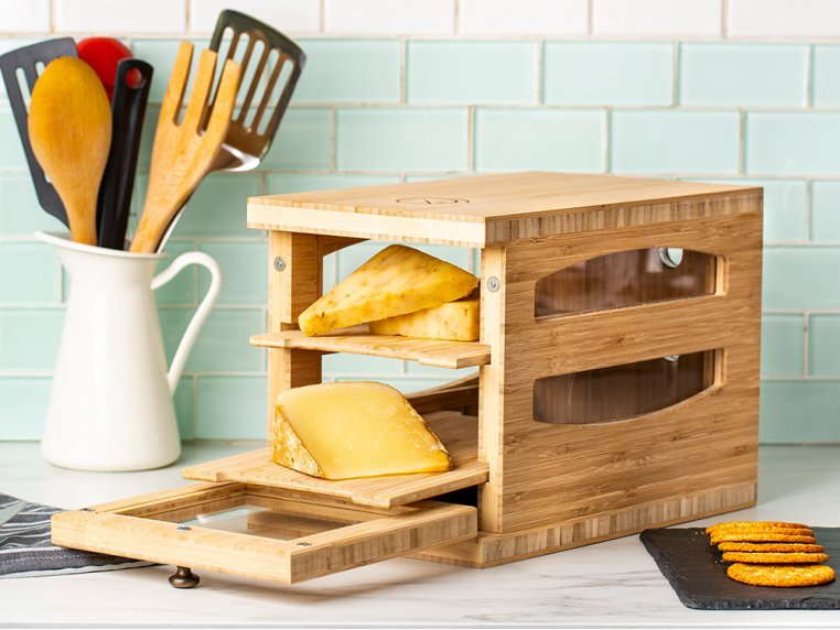 Wooden Cheese Humidor by Cheese Grotto - 1