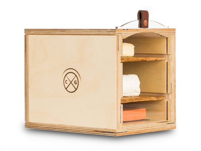 Wooden Cheese Humidor by Cheese Grotto - 4