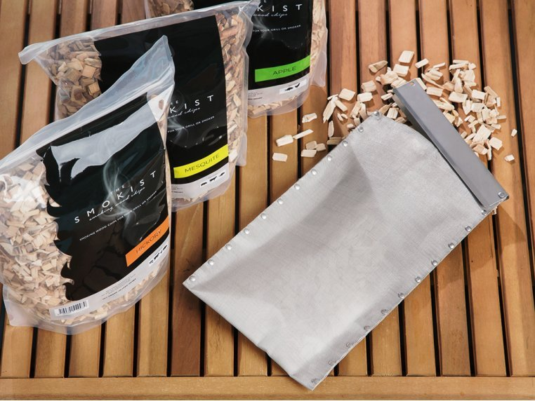 Smoking Pouch & Wood Chips Set by The Smokist™ - 1