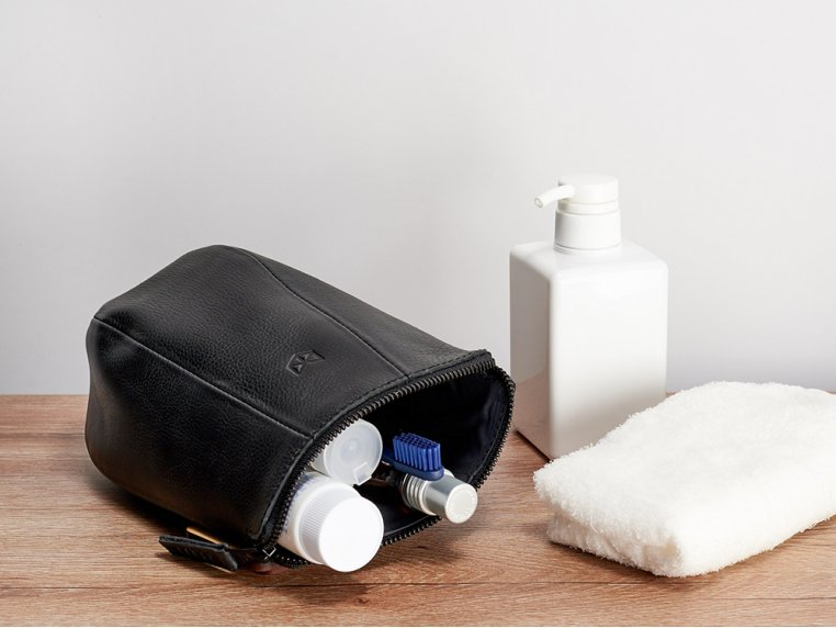 Leather Toiletry Bag by Capra Leather - 1