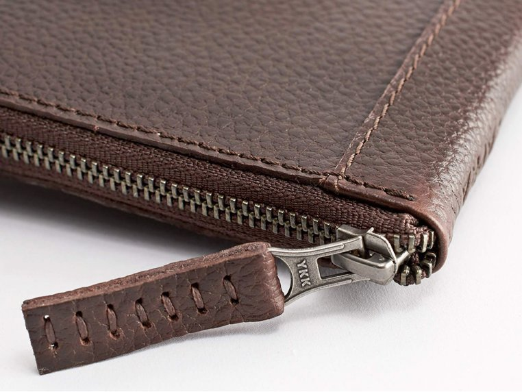 Leather Zippered Passport Holder by Capra Leather - 2