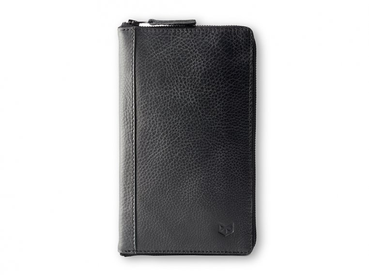 Leather Zippered Passport Holder by Capra Leather - 3