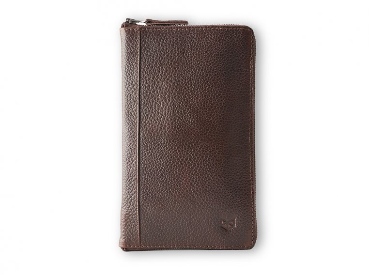 Leather Zippered Passport Holder by Capra Leather - 4