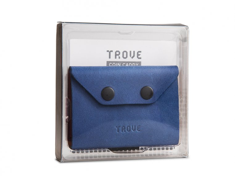 Minimalist Leather & Elastic Coin Pouch by TROVE - 3