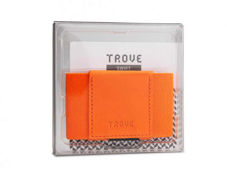 Minimalist Leather & Elastic Wallet by TROVE - 3