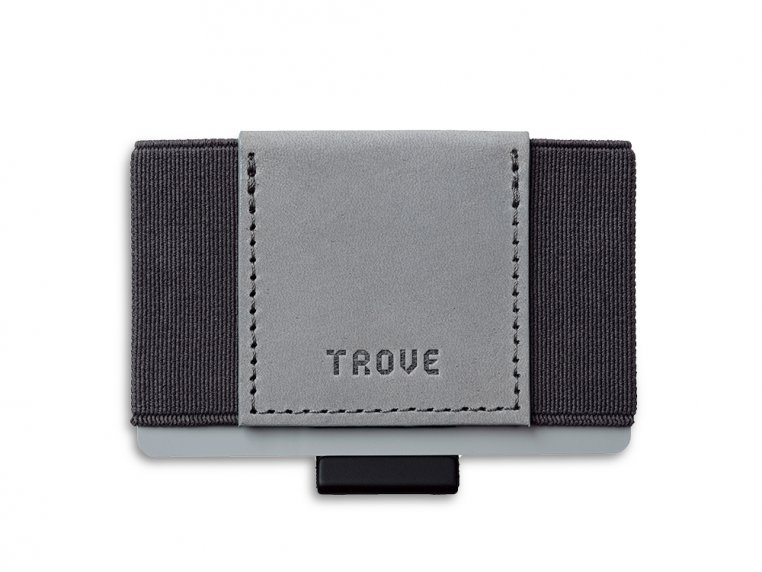 Minimalist Leather & Elastic Wallet by TROVE - 4