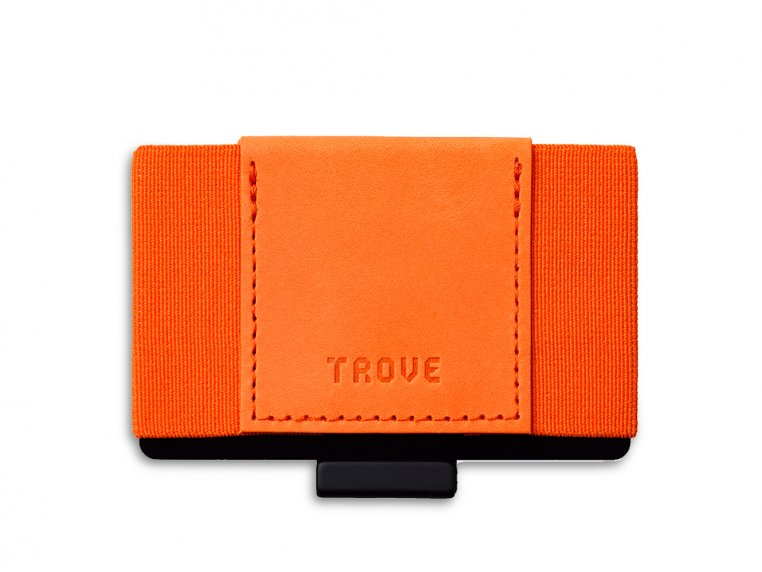 Minimalist Leather & Elastic Wallet by TROVE - 5