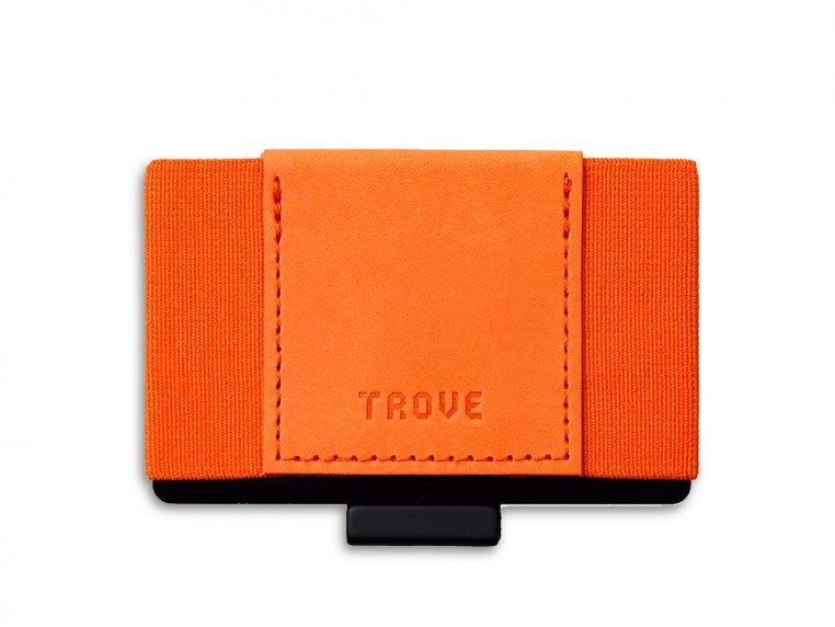 Minimalist Leather & Elastic Wallet by TROVE - 6