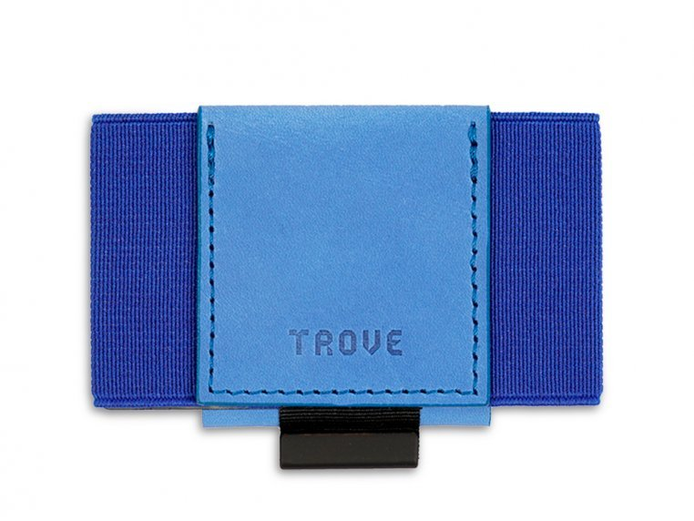 Minimalist Leather & Elastic Wallet by TROVE - 7