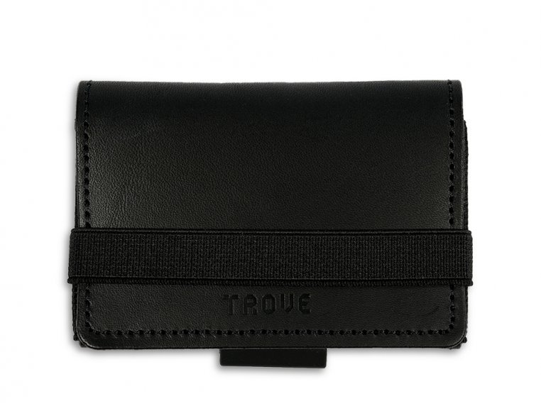 Minimalist Leather & Elastic Billfold by TROVE - 4