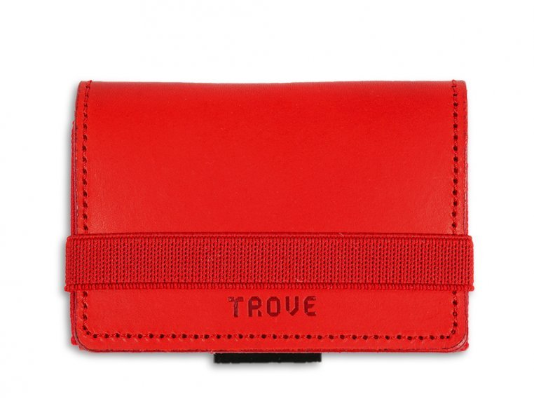 Minimalist Leather & Elastic Billfold by TROVE - 6
