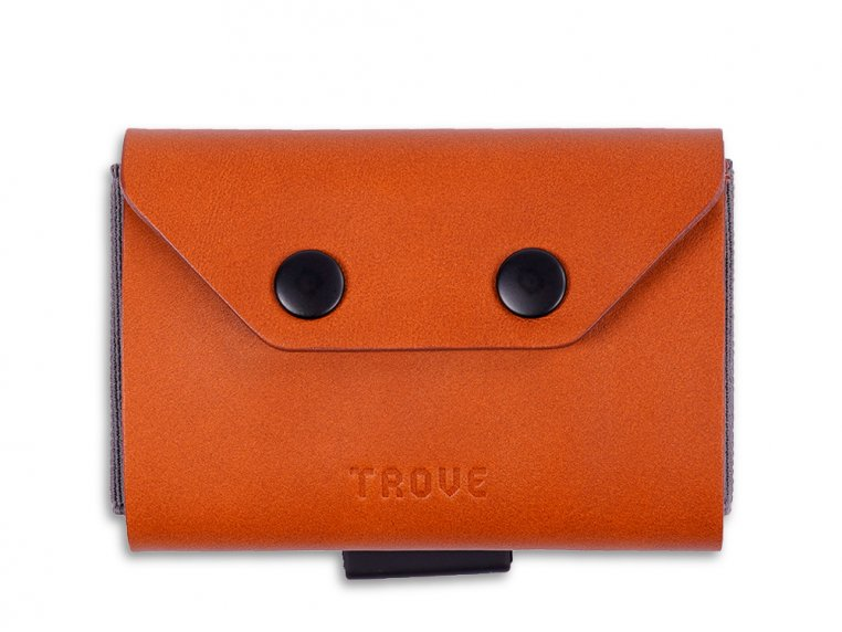 Minimalist Leather & Elastic Coin Pouch by TROVE - 5