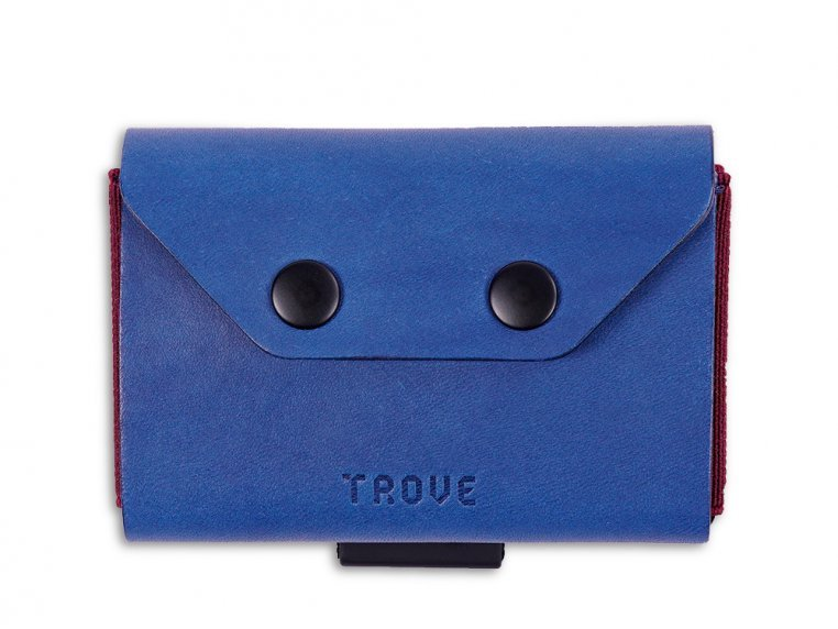 Minimalist Leather & Elastic Coin Pouch by TROVE - 6