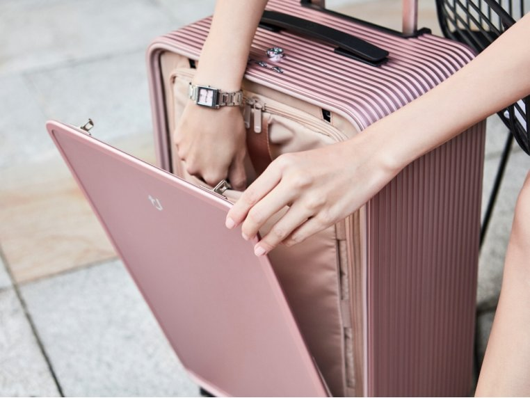 One-Touch Open Aluminum Carry-On by TUPLUS - 3