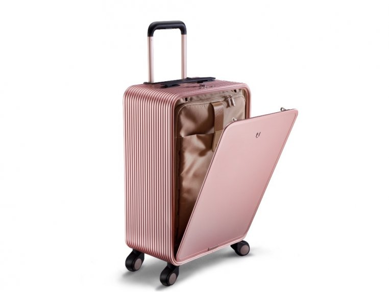 One-Touch Open Aluminum Carry-On by TUPLUS - 8