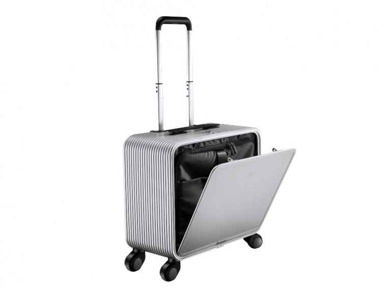 One-Touch Open Aluminum Carry-On by TUPLUS - 9