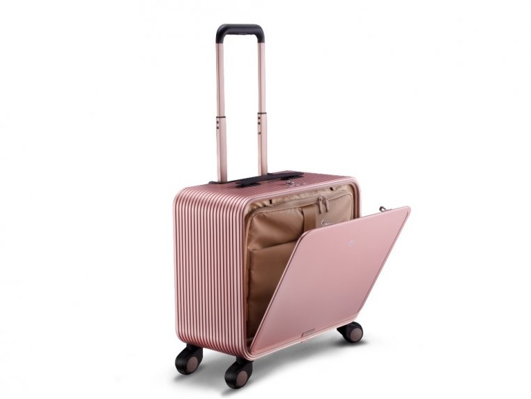 One-Touch Open Aluminum Carry-On by TUPLUS - 11